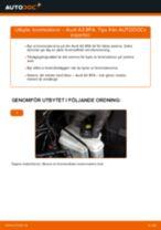 Byta bromsskivor bak på Audi A3 8PA – utbytesguide