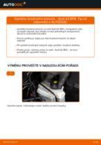 Jak vyměnit zadní brzdové kotouče na Audi A3 8PA – návod k výměně