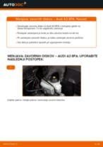 DIY-priročnik za zamenjavo Kolesni lezaj v SEAT AROSA 2003