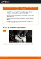 Montare Discuri frana AUDI A3 Sportback (8PA) - tutoriale pas cu pas