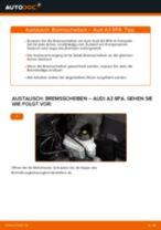 Schritt-für-Schritt-PDF-Tutorial zum Achskörperlager-Austausch beim AUDI A3 Sportback (8PA)