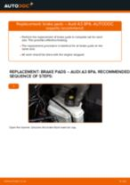 DIY manual on replacing AUDI R8 2020 Brake Pads