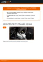 Byta Bromsklossar i AUDI A3 Sportback (8PA) – tips och tricks