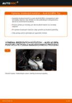 Krok za krokom příručka na opravu Audi A3 8p1
