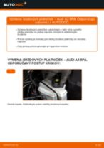 Návod na riešenie problémov: AUDI A3 manuál
