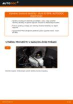 Instalace Brzdové Destičky AUDI A3 Sportback (8PA) - příručky krok za krokem