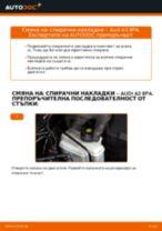Ръководство за работилница за AUDI A7