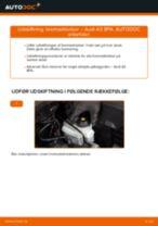 Udskift bremseklodser for - Audi A3 8PA | Brugeranvisning