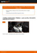 Jak vyměnit přední brzdový třmen na Audi A3 8PA – návod k výměně