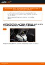 AUDI A3 αντιμετώπιση προβλημάτων εγχειρίδιο