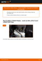 Schimbare Etrier frana AUDI A3: pdf gratuit