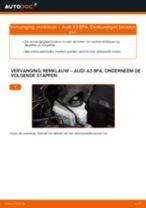 Audi A3 8l1 reparatie en onderhoud gedetailleerde instructies
