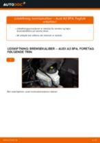 Udskift bremsekaliber for - Audi A3 8PA | Brugeranvisning