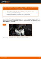 Cómo cambiar: pinza de freno de la parte delantera - Audi A3 8PA | Guía de sustitución
