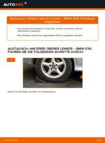 Wie der Wechsel durchführt wird: Querlenker BMW E39 523i 2.5 530d 3.0 528i 2.8 tauschen