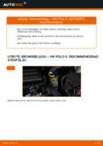 Byta bromsbelägg fram på VW Polo 5 – utbytesguide