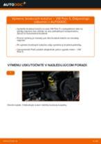 Ako vymeniť predné brzdové kotúče na VW Polo 5 – návod na výmenu
