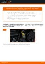 Jak vyměnit přední brzdové destičky na VW Polo 5 – návod k výměně