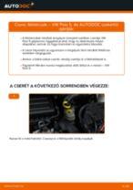 VW POLO Saloon Fogasszíj készlet cseréje: kézikönyv pdf