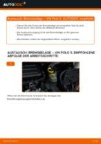 Empfehlungen des Automechanikers zum Wechsel von VW VW Polo 5 Limousine 1.4 Querlenker