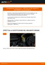 Come cambiare dischi freno della parte anteriore su VW Polo 5 - Guida alla sostituzione