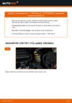 Byta bromsskivor fram på VW Polo 5 – utbytesguide