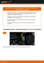 Jak wymienić tarcze hamulcowe przód w VW Polo 5 - poradnik naprawy