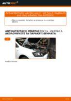 Πώς να αλλάξετε ιμάντας poly-V σε VW Polo 5 - Οδηγίες αντικατάστασης