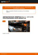 Πώς να αλλάξετε ιμάντας poly-V σε Audi A4 B8 - Οδηγίες αντικατάστασης