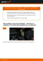 Cum să schimbați: plăcuțe de frână din față la VW Polo 5 | Ghid de înlocuire