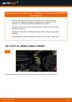 Cum schimbare Discuri frana spate si față VW POLO Saloon - tutoriale online