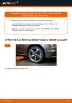Comment changer : rotule de rirection sur Audi A4 B8 - Guide de remplacement