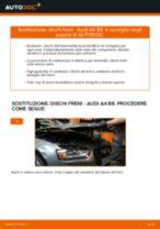 Come cambiare dischi freno della parte anteriore su Audi A4 B8 - Guida alla sostituzione