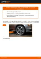 Kuinka vaihtaa raidetangon pää Audi A4 B8-autoon – vaihto-ohje