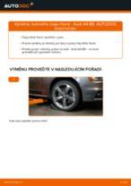 Jak vyměnit kulový čep řízení na Audi A4 B8 – návod k výměně