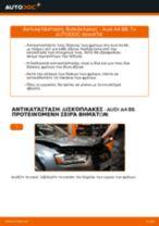 Αλλαγή Δισκόπλακα AUDI A4: δωρεάν pdf