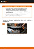 Hátsó féktárcsák-csere Audi A4 B8 gépkocsin – Útmutató