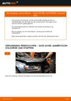 AUDI A5 stapsgewijze handleidingen over onderhoud