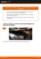 Cómo cambiar: pastillas de freno de la parte trasera - Audi A4 B8 | Guía de sustitución