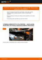 AUDI 90 príručka údržba a opravy