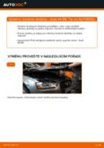 Vyměnit Brzdové Destičky AUDI A4: dílenská příručka