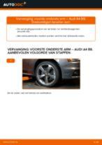 Hoe voorste onderste arm vervangen bij een Audi A4 B8 – vervangingshandleiding