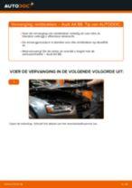 Remblokkenset schijfrem veranderen AUDI A4: gratis pdf