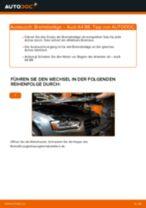 AUDI Bremsbelagsatz hinten + vorne selber wechseln - Online-Anweisung PDF