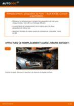 Notre guide PDF gratuit vous aidera à résoudre vos problèmes de AUDI Audi A4 B8 Berline 1.8 TFSI Rotule De Direction