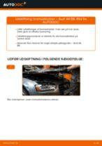 AUDI A5 fejlfinding af manual