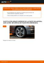 Cómo cambiar: brazo inferior de la parte delantera - Audi A4 B8 | Guía de sustitución