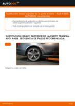 Cómo cambiar: brazo superior de la parte trasera - Audi A4 B8 | Guía de sustitución