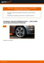 Poradnik krok po kroku w formacie PDF na temat tego, jak wymienić Wahacz w AUDI A4 (8K2, B8)