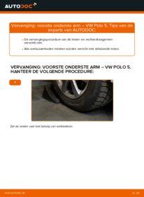 Vervangen: Draagarm VW POLO